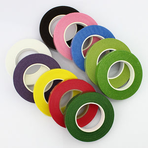 30Yard 12mm  Self-adhesive Paper Tape Floral Stem for Garland Wreaths DIY Craft Artificial Silk Flower