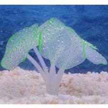 Sucker Coral Aquarium Artificial Coral Silicone Plant With Sucker Ornament