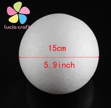 3cm/4cm/5cm/6cm/8cm/9cm/15cm White Modelling Polystyrene Styrofoam Foam Ball Spheres For New DIY Crafts Supplies 18030732