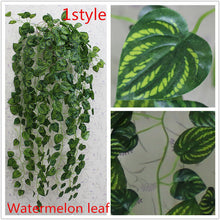 JOY-ENLIFE 1pcs 90cm Cheap Artificial Ivy Leaf Artificial Plants Green Garland Plants Vine Fake Foliage Home Decor Wedding Decor