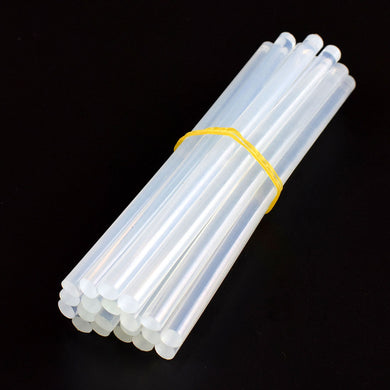 NEWACALOX 20Pcs/Lot 7mm x 150mm Hot Melt Glue Sticks For Electric Glue Gun Craft Album Repair Tools For Alloy Accessories