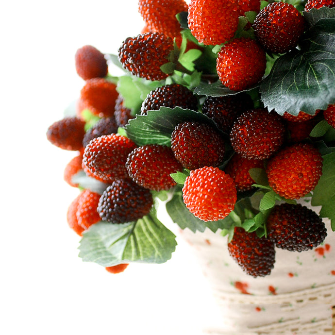 9 artifical fake fruit wedding home decoration flower artificial fruit paddle strawberry photo props plant