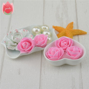 100pcs Lovely Handmade Foam Roses