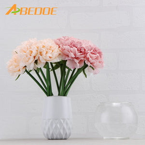 5pcs/lot Peony Flower Artificial Flowers Wedding Decorative Flowers Fake Flowers Living Room Table Home Garden Decor Accessories