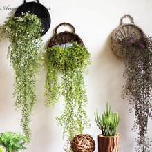 Artificial Admiralty willow 1pcs 78cm simulation plant 5 colors DIY wall hanging vine wedding decoration for home hotel decor