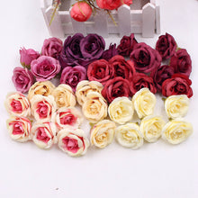 10pcs 4cm Silk Amazing Artificial Roses