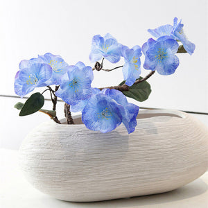 1pc Real Touch Hydra artificial Japanese cherry blossoms fake decorative flowers for wedding new home 4 colors
