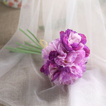 Luyue 7 branches/bouquet Silk Artificial Poppy Bouquet Flower Romantic Wedding Bride Bouquet Flower Rosemary Home Wreath Garden
