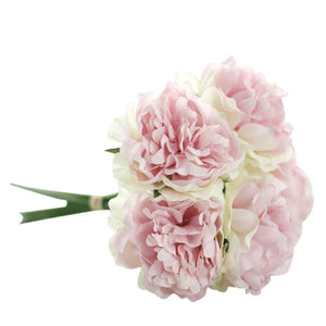 Artificial Silk Peony Flowers