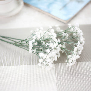 New Artificial Gypsophila Floral Flower Fake Silk Wedding Party Bouquet Home Decor