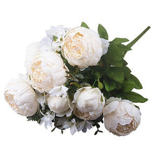 13 Heads European Style Artificial Peony Decoration