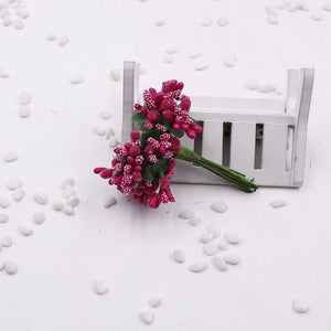 12PCS/lot Artificial Flower Stamen Decoration