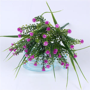 Vivid P.tenuiflora Green Grass plants artificial flower babysbreath simulation