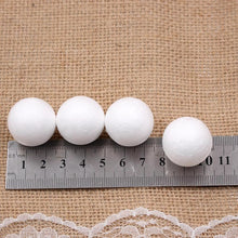 20pcs/lot 20mm 25mm Styrofoam Creative EPS solid small ball DIY Craft White Foam Ball Christmas decoration