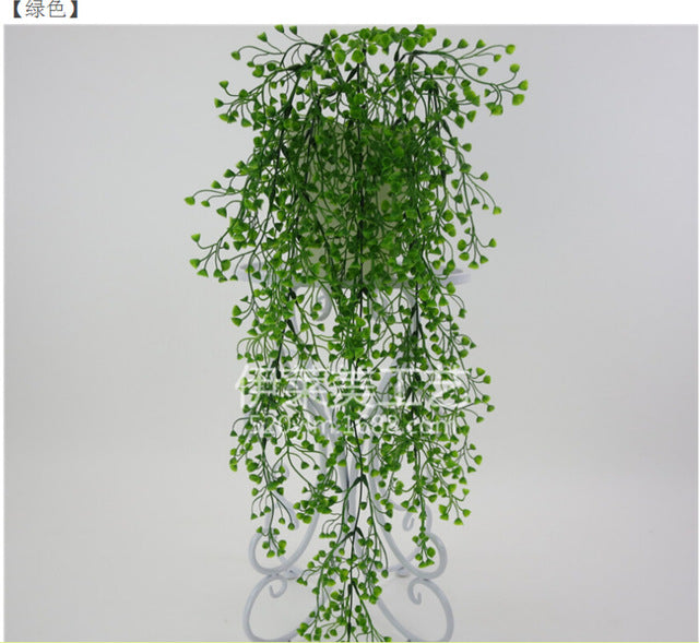 Artificial Flowers String for Valentine's Day Wedding Party Artificial Hanging Plant Pot Basket Indoor Outdoor Garden Decoration