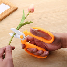 High quality Flower Scissors Floristry Cutter Tools Multi Colors Flower Twig Clippers Janpanese SK5 Steel