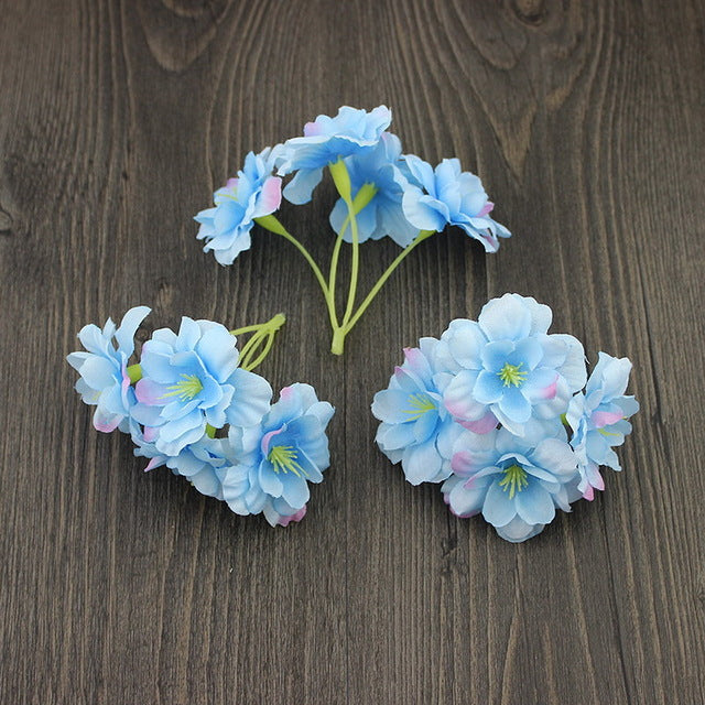 5pieces Artificial Hydrangea Head Flower