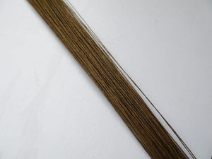 26 gauge florist wire wholesale brown DIY  wedding flower wire 300pieces
