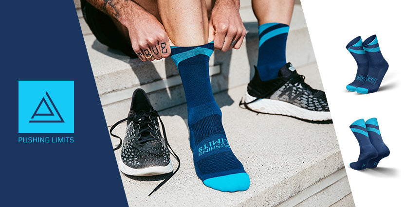 pushing limits incylence socken kooperation