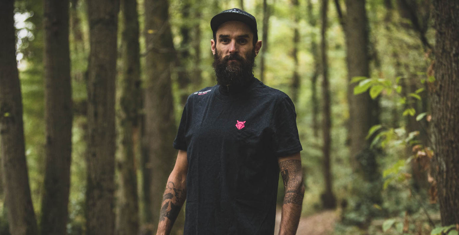 Yoann Stuck with the INCYLENCE Lifestyle T-Shirt