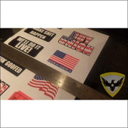 Hard Hat Carpenter Sticker Pack Mac Tactical Decals