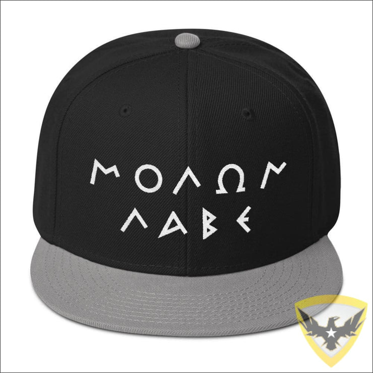 Molon Labe Greek Snapback Hat Mac Tactical Decals