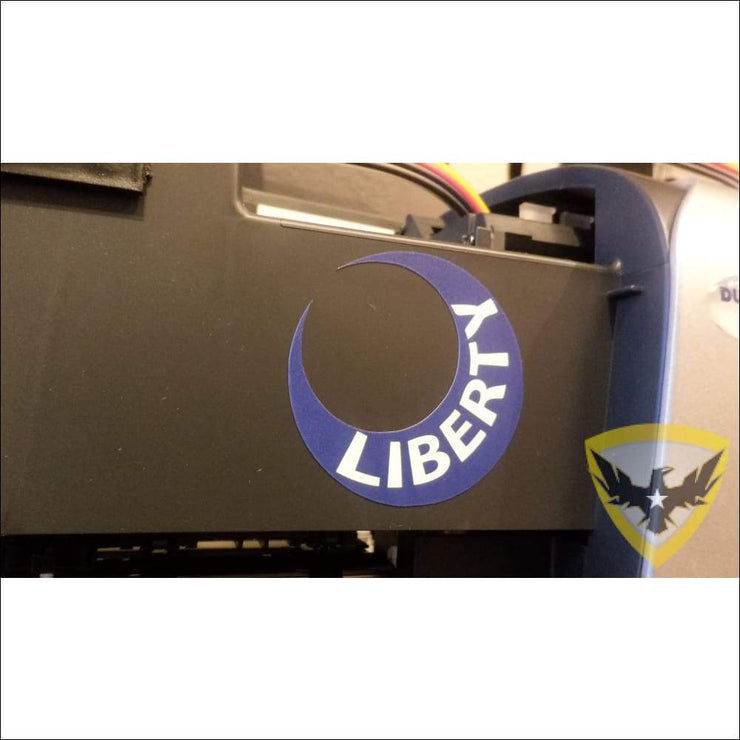 Moultrie Liberty Moon Sticker (4 - 12 Pack) Mac Tactical Decals