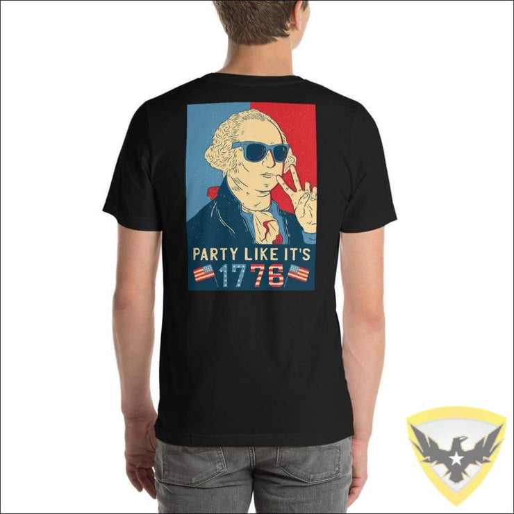 Party Boy Washington T-Shirt Mac Tactical Decals
