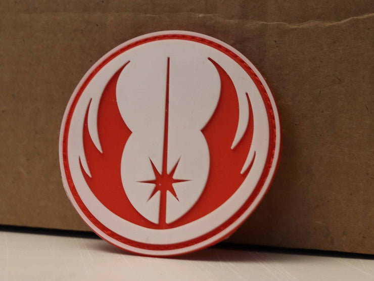 Starwars Rebellion Glow-in-dark PVC Hook and Loop Patch Mac Tactical Decals