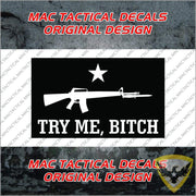 Vulgar Dont Tread On Me Stickers (Multipack) Mac Tactical Decals