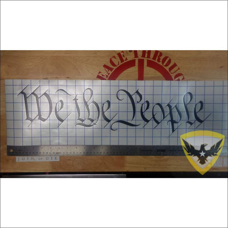 We The People Decal Mac Tactical Decals