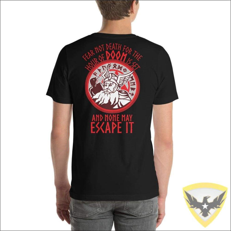 You Cannot Escape Death Viking T-Shirt Mac Tactical Decals