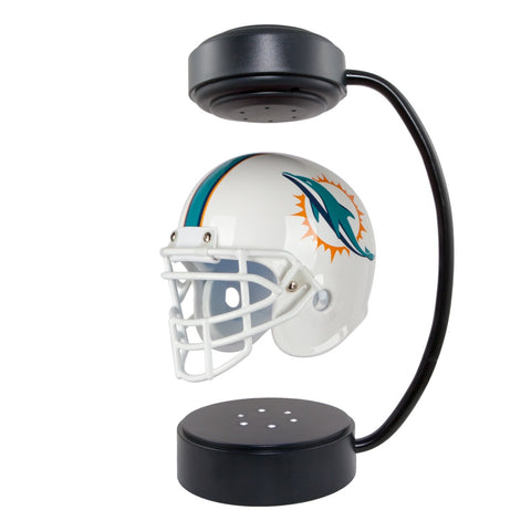 Miami Dolphins Hover Helmet on Stand