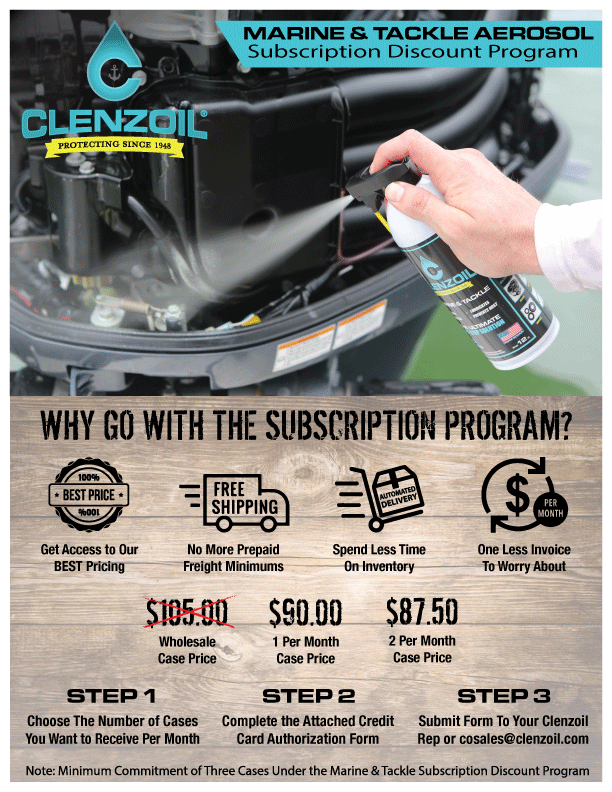 Clenzoil Launches All-New Subscription Program