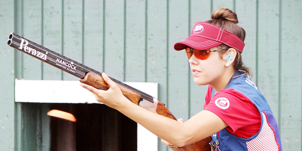 CLENZOIL SPONSORS WORLD CHAMPION SHOOTER, DANIA VIZZI