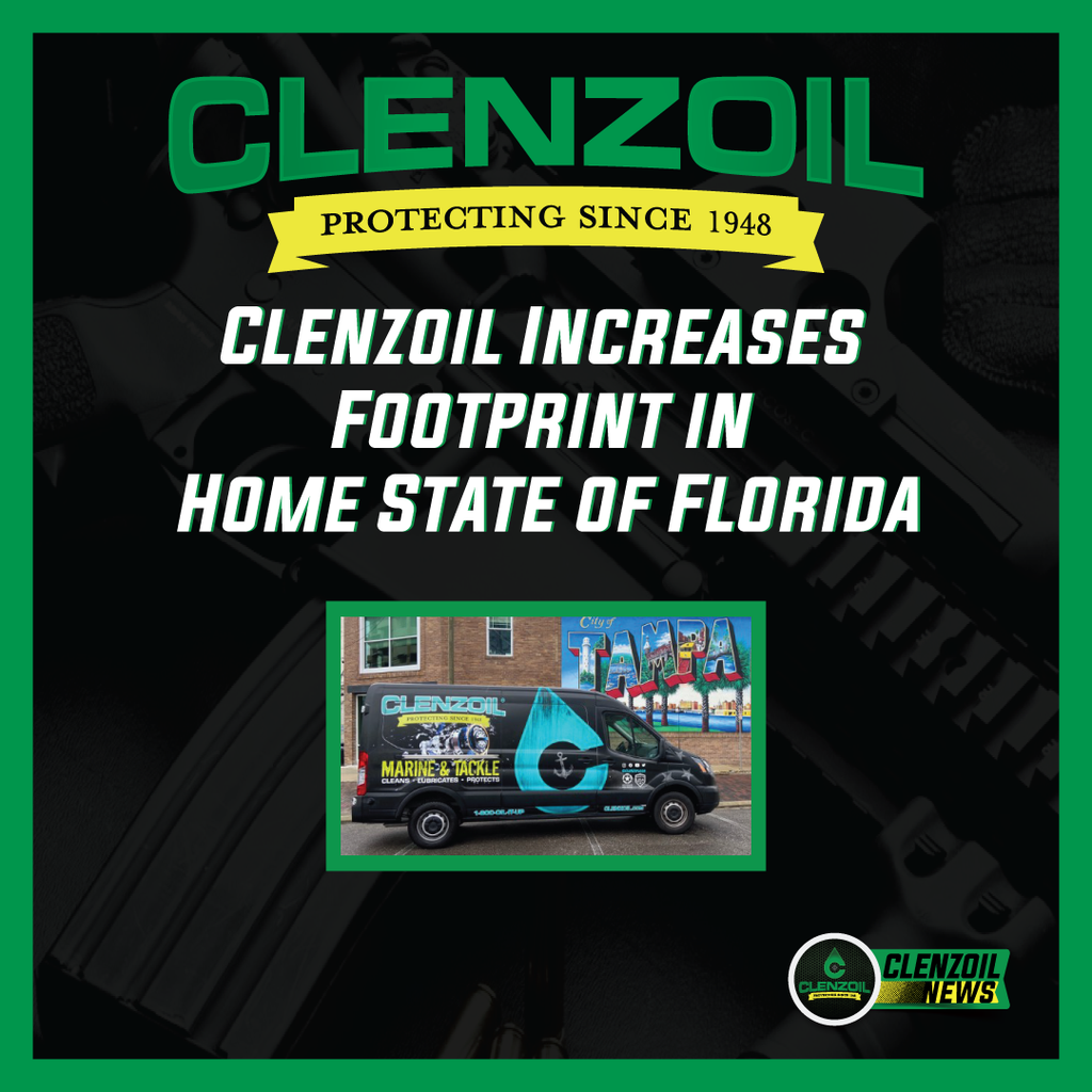 Clenzoil Increases Footprint in Home State of Florida