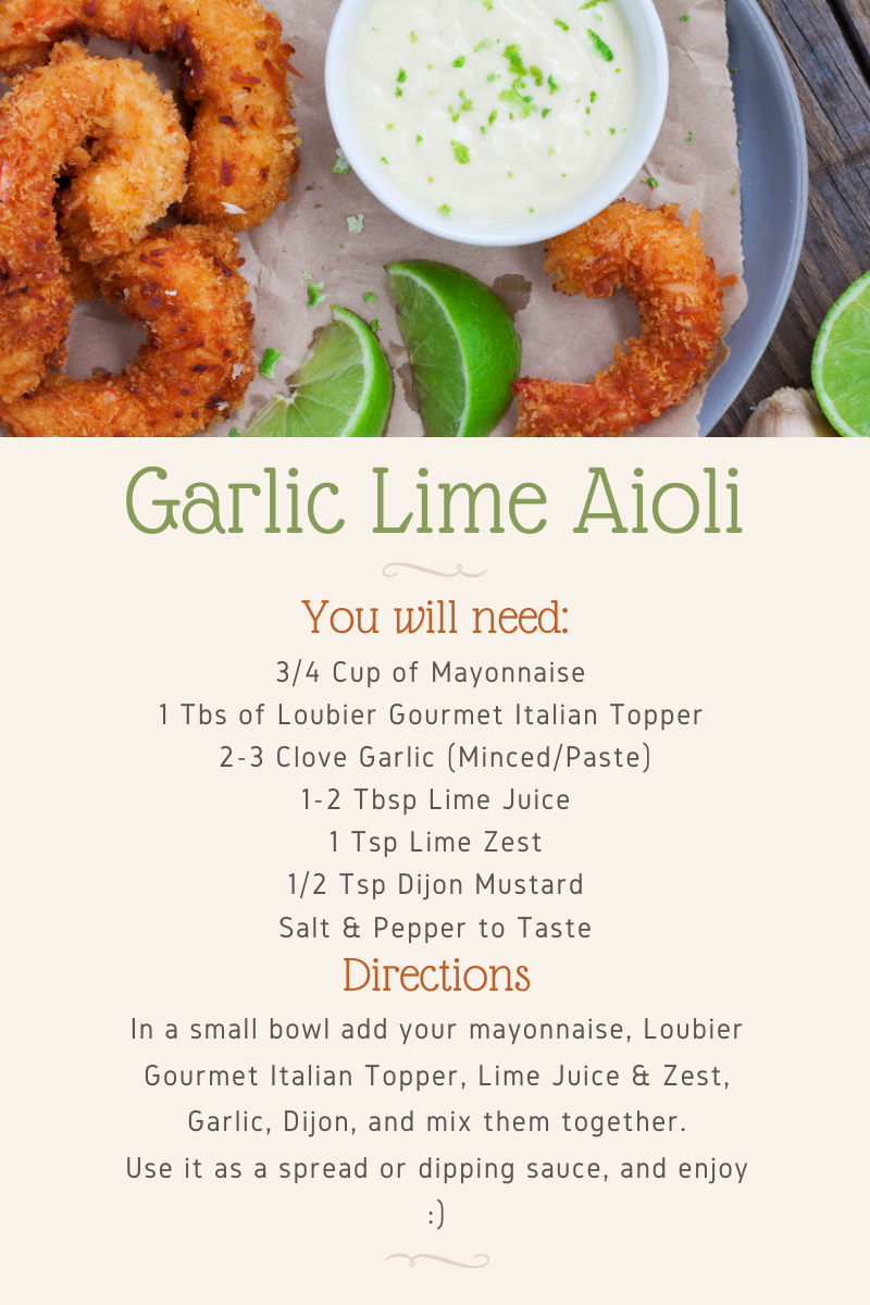 Garlic Lime Aioli Recipe