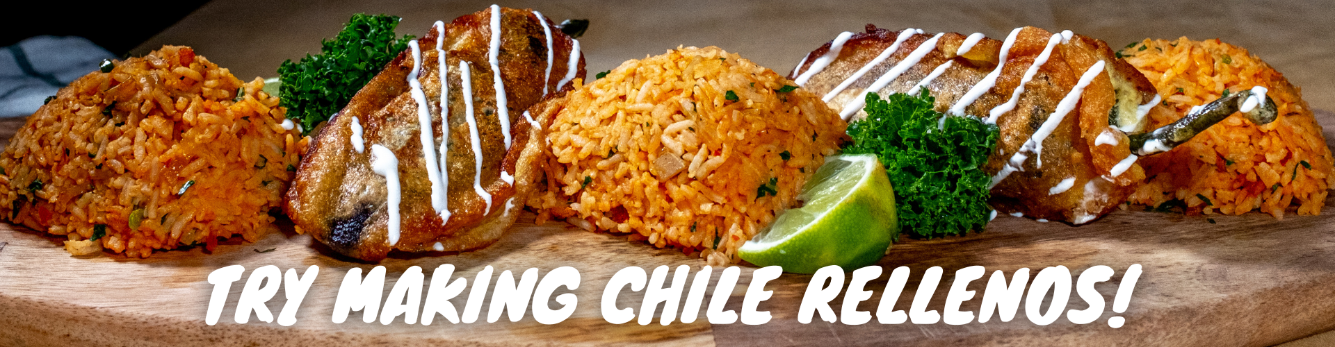 try making chile rellenos