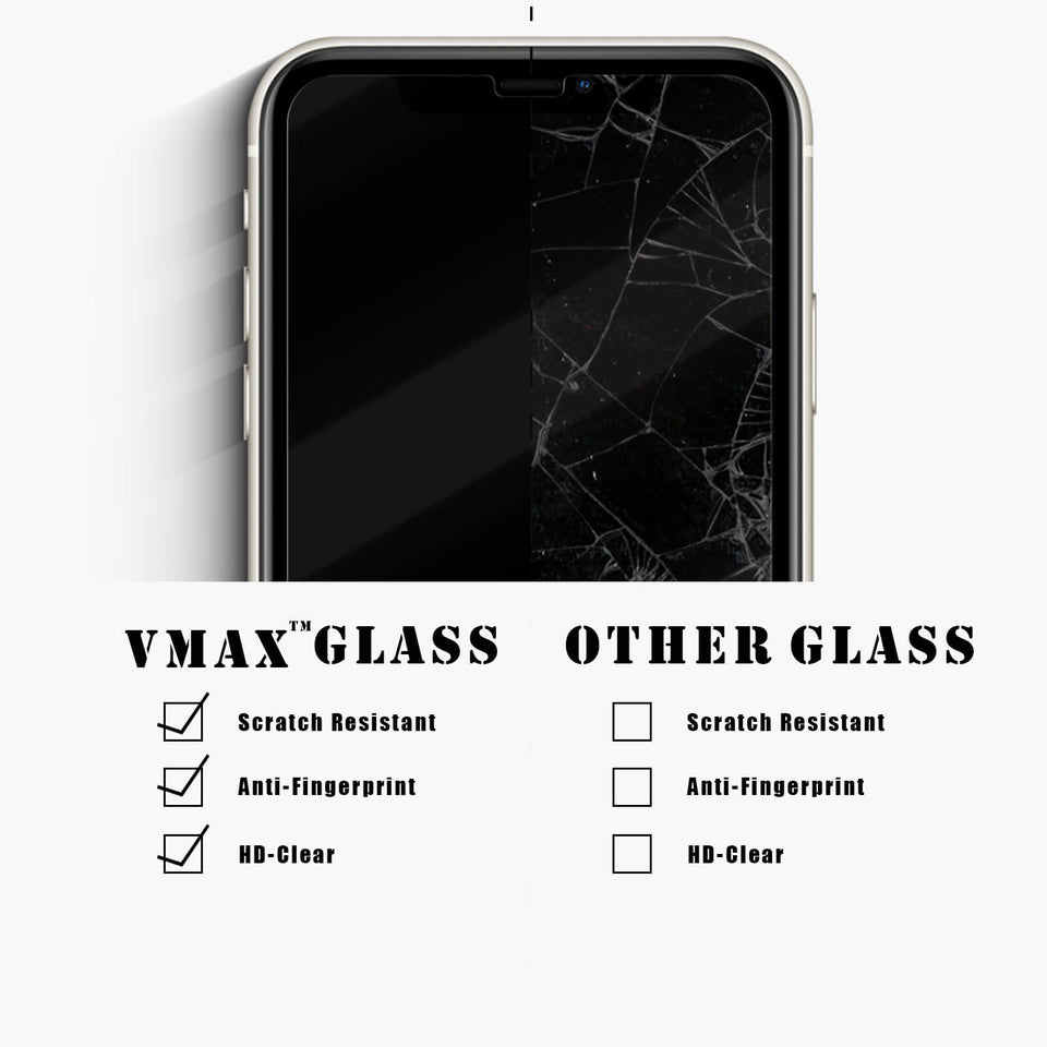 2.5D Round Edge High Transparent Tempered Glass Screen Protector