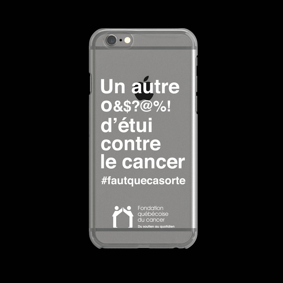 #fautquecasorte / Quebec Cancer Foundation