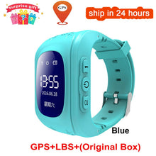 Carregar imagem no visualizador da galeria, KGG Anti Lost Q50 OLED Child GPS Tracker SOS Smart Monitoring Positioning Phone Kids GPS Baby Watch Compatible IOS & Android