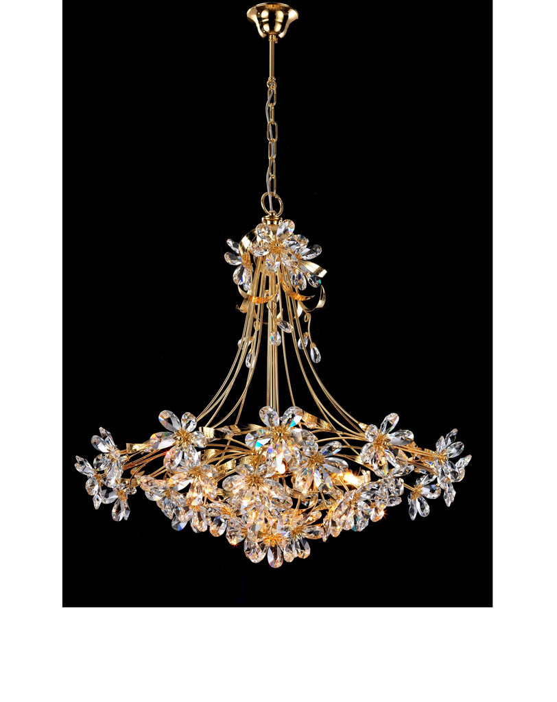Asfour Crystal Flower Shape Chandelier 441 075 O Cas T Avanti Group Ltd