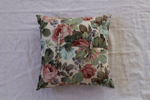 Rose cotton cushion 45cm x 45cm