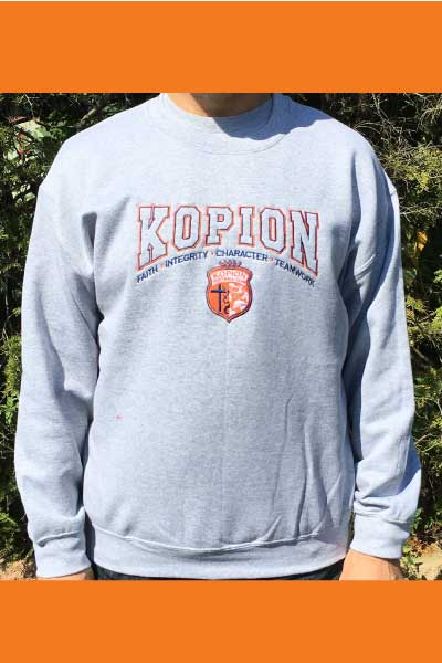 Crew Neck Kopion Sweatshirt - ON SALE