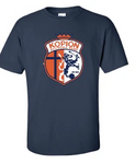 Short Sleeve Kopion Navy Shirt