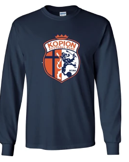 *NEW* Long Sleeve Kopion Navy Shirt