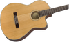 Fender CN-140SCE Nylon Thinline, Walnut Fingerboard, Natural w/Case