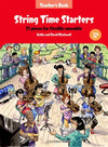 STRING TIME STARTERS TEACHERS BK/CD