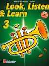 LOOK LISTEN & LEARN PART 3 TRUMPET BK/CD