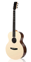 Enya EM-X2/EQ Solid Top Acoustic Guitar